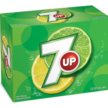 Seven-Up - Lemon-Lime - 12 pack
