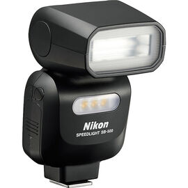 Nikon SB-500 AF Speedlight Flash - Black - 4814
