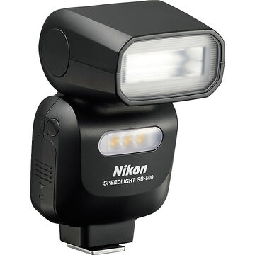 Nikon SB-500 AF Speedlight Flash - Black - 4814