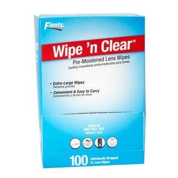 Flents Wipe n' Clear Pre-Moistened Lens Wipes - 100's