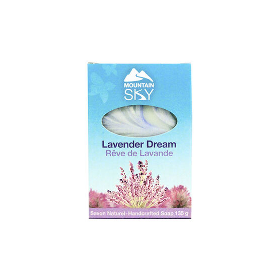 Mountain Sky Natural Hand Crafted Soap - Lavender Dream - 135g