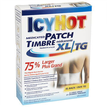 Icy Hot Medicated Patch - XL Back - 3 patches