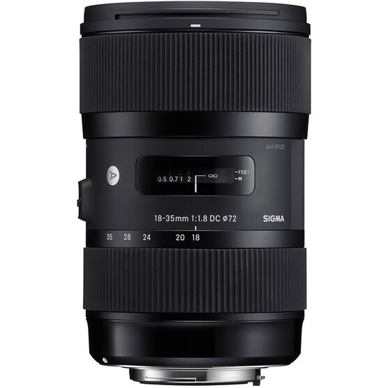 Sigma Art DC 18-35mm F1.8 DC HSM Lens for Nikon - A1835DCHN