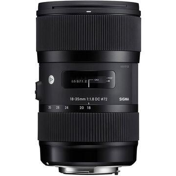 Sigma Art DC 18-35mm F1.8 DC HSM Lens for Pentax - A1835DCHP