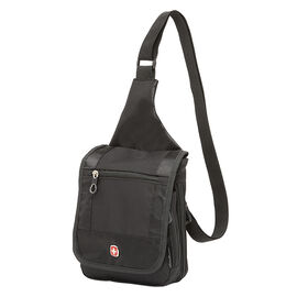 Swiss Gear Boarding Sling Bag - Black