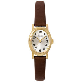 Timex Cavatina Watch - Brown/Gold - T2M567C2