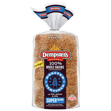 Dempsters Wholegrain Supergrains Bread - 600g