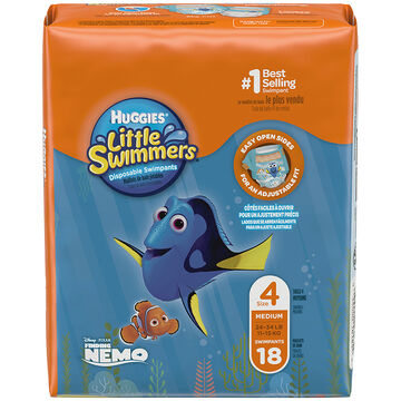 Huggies Little Swimmers - Medium - 18's