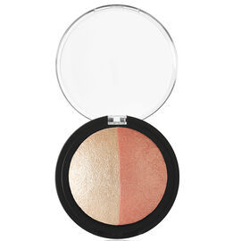 e.l.f. Baked Highlighter & Blush - Rose Gold