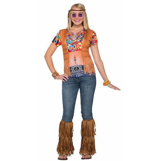 Halloween Hippie Gal 3D Tee