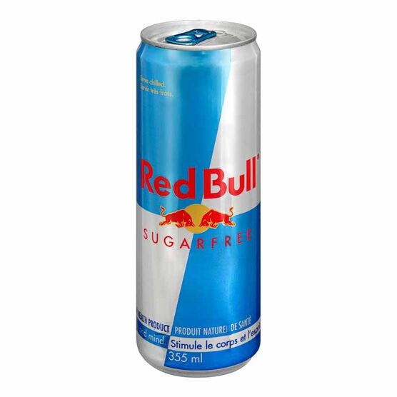 Red Bull Energy Drink - Sugar Free - 355ml