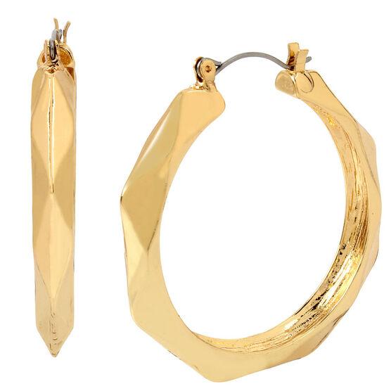 Haskell Hoop Earrings - Gold