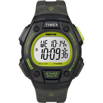 Timex Ironman Watch - Black/Green - T5K824GP