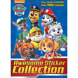 Paw Patrol Awesome Sticker Collection