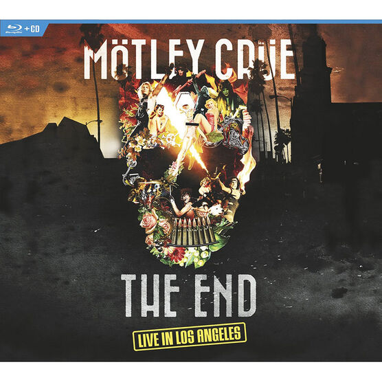 Motley Crue - The End: Live in Los Angeles - Blu-ray + CD