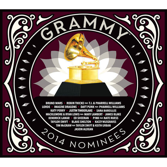 Various Artists - Grammy Nominees 2014 - CD