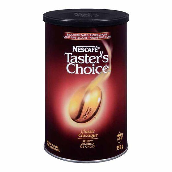 Nescafe Tasters Choice - Classic -  250g