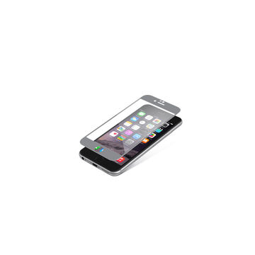 Zagg InvisibleShield Glass Luxe for iPhone 6/6s - Titanium - ISIP6BGSGML