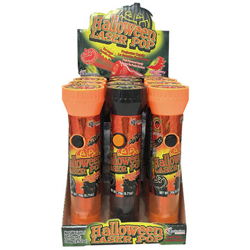 Halloween Laser Pop  with Candy - Assorted - 20g