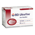 BD Ultra Fine TM Pen Needle - 29 G x 12.7 mm - 100's
