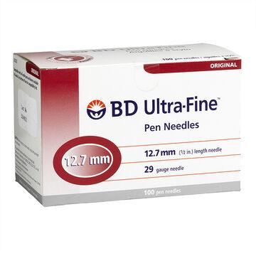 BD Ultra Fine TM Pen Needle - 29 G x 12.7 mm - 100's