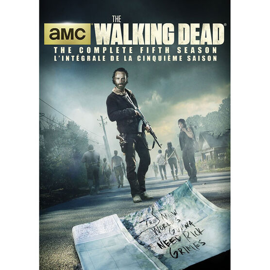 The Walking Dead: Season 5 - DVD