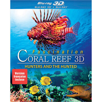 Fascination Coral Reef: Hunters and the Hunted - 3D Blu-ray + Blu-ray