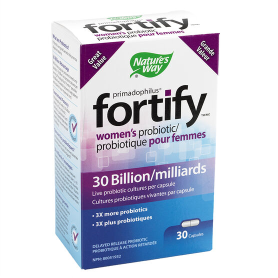 Nature's Way Fortify Women's Probiotic - 30 Billion - 30's