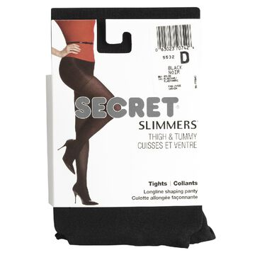 Secret Shaper Tights - D - Black