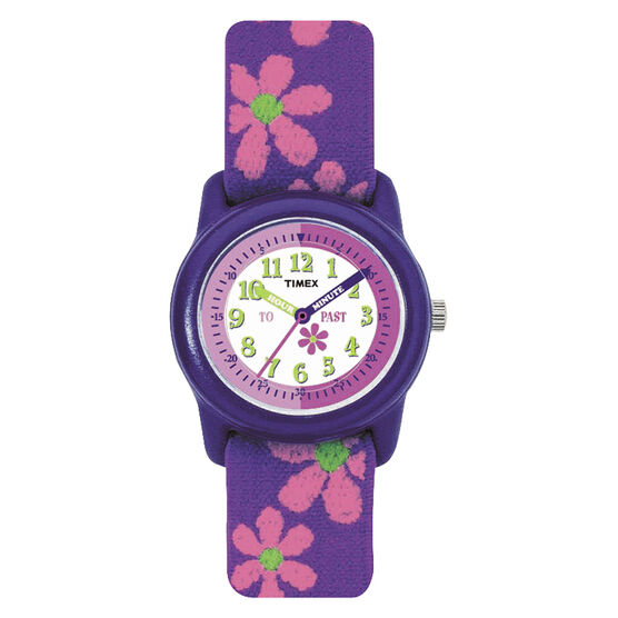 Timex Youth Grils Analogue Watch - Purple - T89022KU