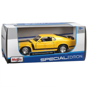 Maisto 1970 Ford Mustang - Yellow