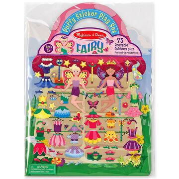 Melissa & Doug Puffy Stickers Play Set - Fairy - 19414