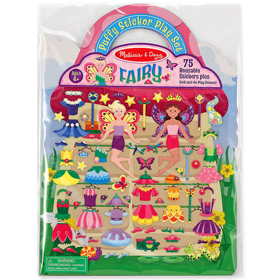 Melissa & Doug Puffy Stickers Play Set - Fairy - 19414