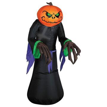 Halloween Outdoor Pumpkin Reaper Inflatable Decoration