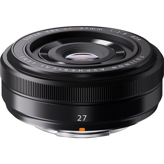 Fuji XF 27mm F2.8 Lens - Black