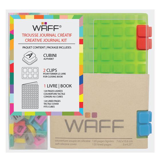 WAFF Mini Combo Journal - Green