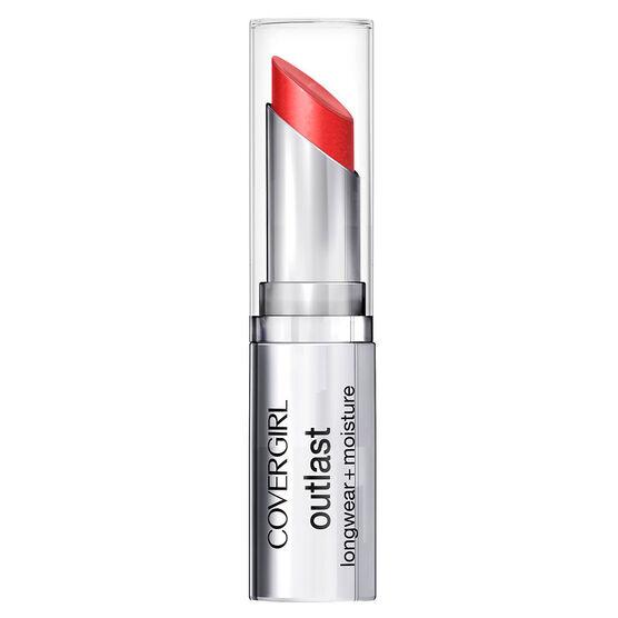 CoverGirl Outlast Longwear Lipstick - Red Siren
