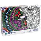 Mandalas Color-A-Puzzle - Assorted