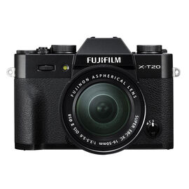 PRE-ORDER: Fujifilm X-T20 with 16-50mm XC Lens - Black - 600018094
