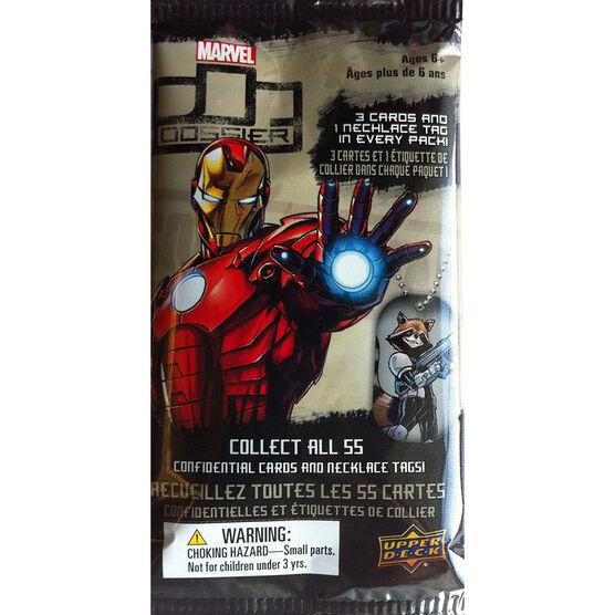 Marvel Dossier Trading Cards