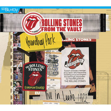 From the Vault: The Rolling Stones Live in Leeds 1982 - Blu-ray + 2 CD