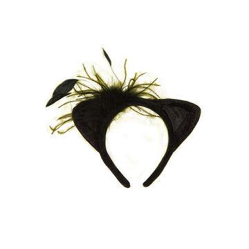 Halloween Cat Ear Headband