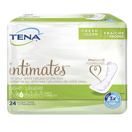 Tena Dri Active Plus Pads - Ultra Light/Long - 24's