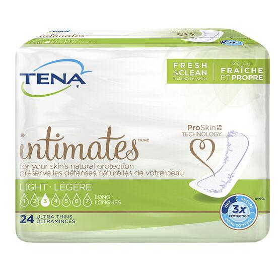 Tena Dri Active Plus Pads - Ultra Light/Long - 24's
