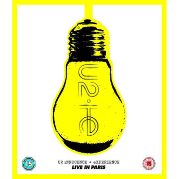 U2 - Innocence + Experience: Live in Paris - Blu-ray