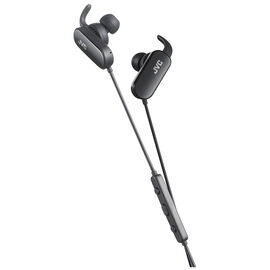 JVC Wireless Sport Headphone - Black - HAEBT5B