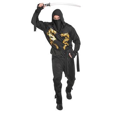 Halloween Black Dragon Ninja