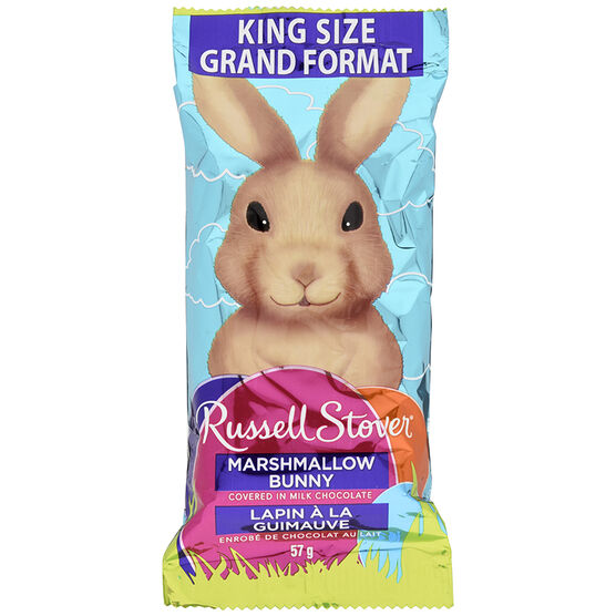 Russell Stover Marshmallow Bunny - 57g