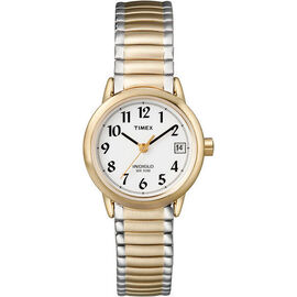 Timex Dress Women's Watch - White/Gold - 2H381