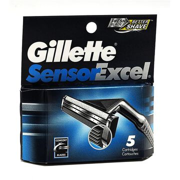Gillette SensorExcel Cartridges - 5's